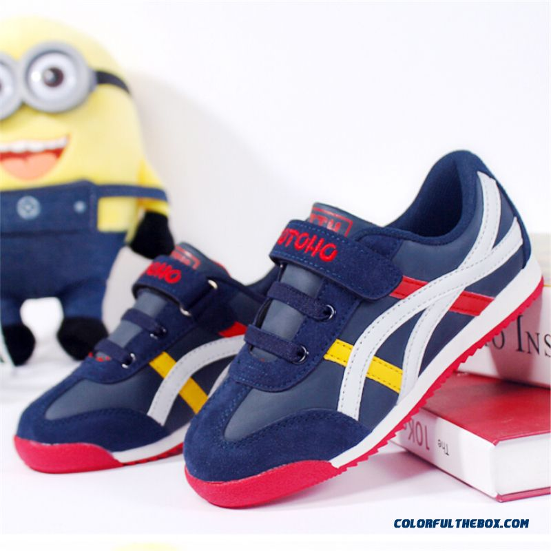 Fall Simple And Stylish Leather Boy's And Girl's Running Shoes Hot Sale In Winter Kids Favorite Shoes