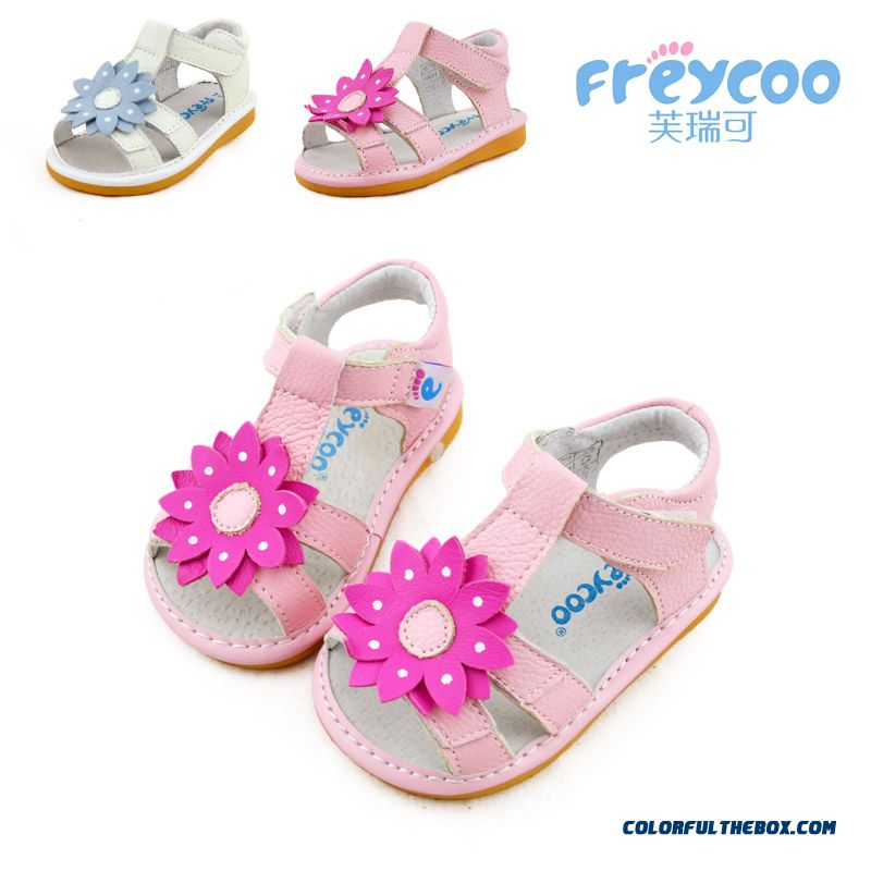 Fashion All-match Beautiful Baby Sandasl Shoes 1-2-3 Years Old Free Shipping Practical Design For Girls Kids - more images 1