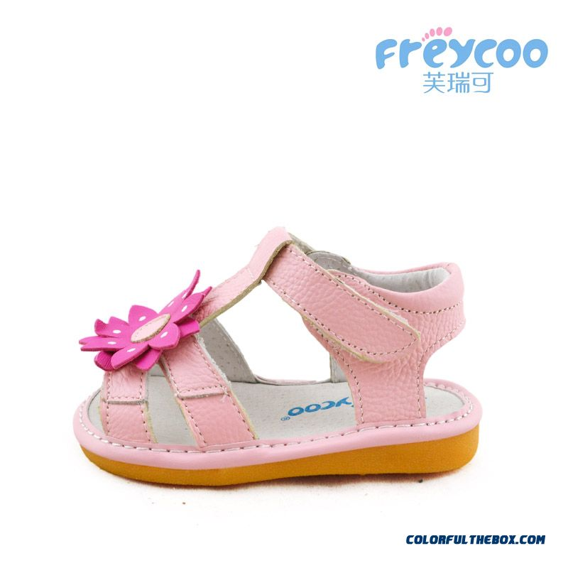 Fashion All-match Beautiful Baby Sandasl Shoes 1-2-3 Years Old Free Shipping Practical Design For Girls Kids - more images 2