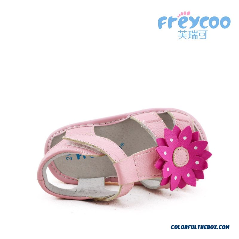 Fashion All-match Beautiful Baby Sandasl Shoes 1-2-3 Years Old Free Shipping Practical Design For Girls Kids - more images 3