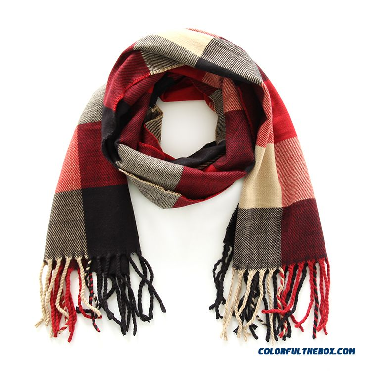 Fashion All-match Kids Scarves 2016 New Genuine Brand Designed For Boys Plaid Neck Scarves Shawl Winter Models - more images 3