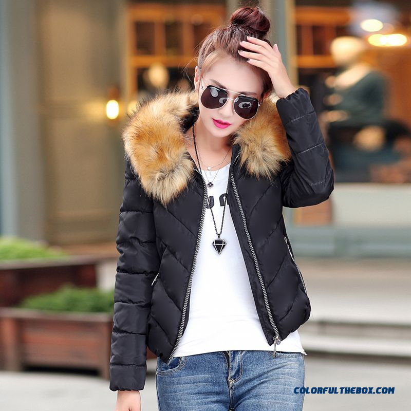 Fashion Female Coats Ovo Collar Large Short Blue Green Promotion Sexy - more images 1