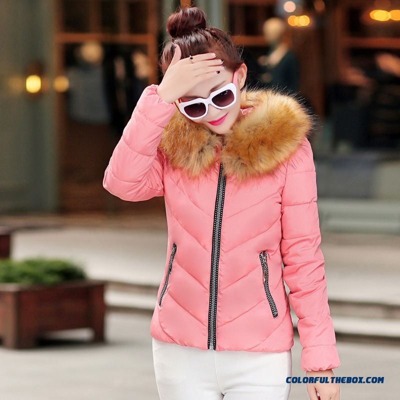 Fashion Female Coats Ovo Collar Large Short Blue Green Promotion Sexy - more images 2
