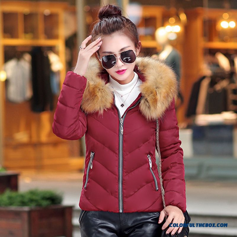 Fashion Female Coats Ovo Collar Large Short Blue Green Promotion Sexy - more images 3