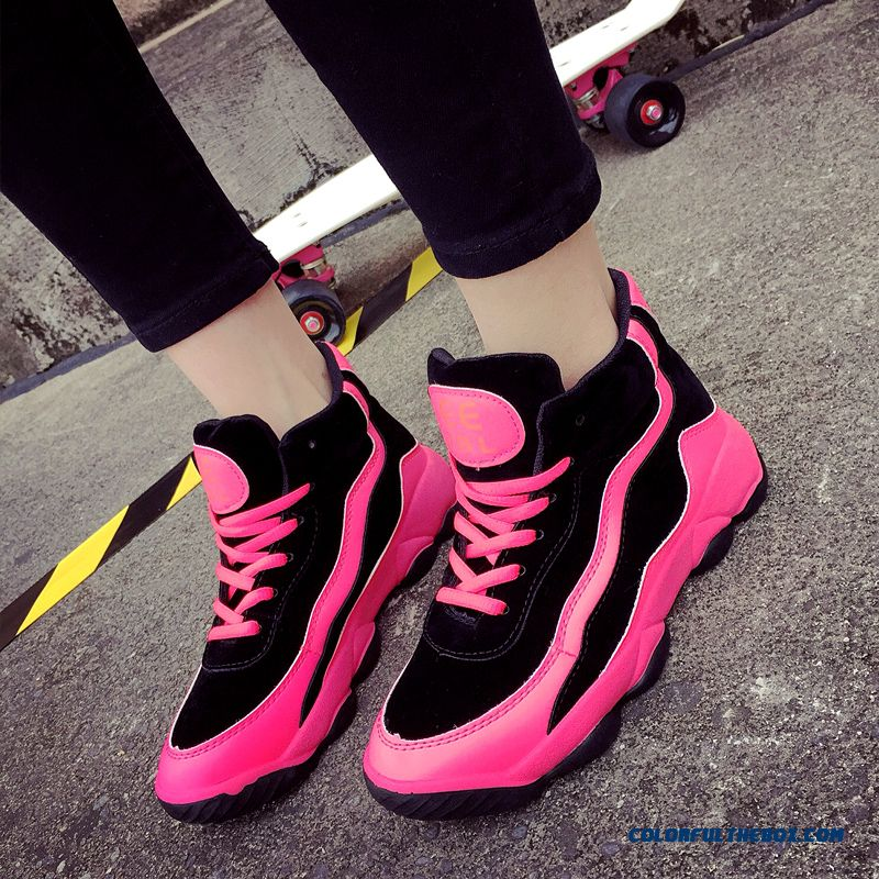 Fashion Thick Bottom Women Running Casual Shoes Free Shipping - more images 1