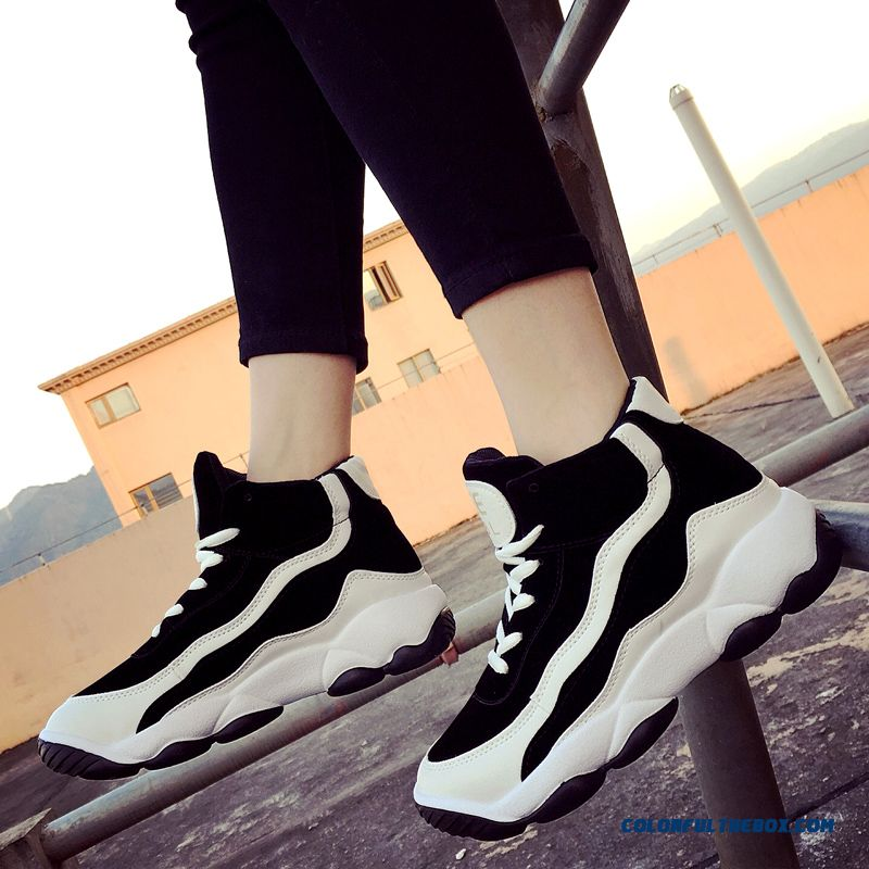 Fashion Thick Bottom Women Running Casual Shoes Free Shipping - more images 4