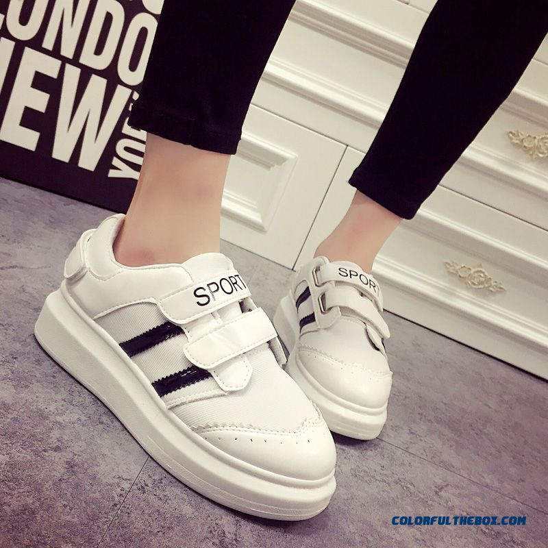 Fashion Velcro Travel And Casual Breathable Loose Women Casual Shoes