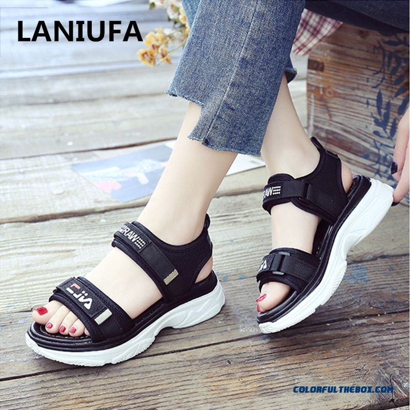 Fashion Women Sandals Women Summer Platform Sandal Shoes Women Mesh Breathable Comfort Shopping Ladies Walking Shoes Mujer #656
