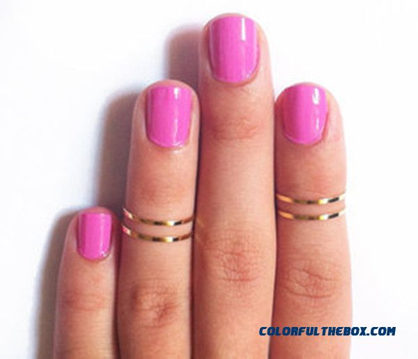 Fine Ring Gucci Womens Ornaments New Pattern Polishing Copper Women Jewelry Ring Fine Ring - more images 1