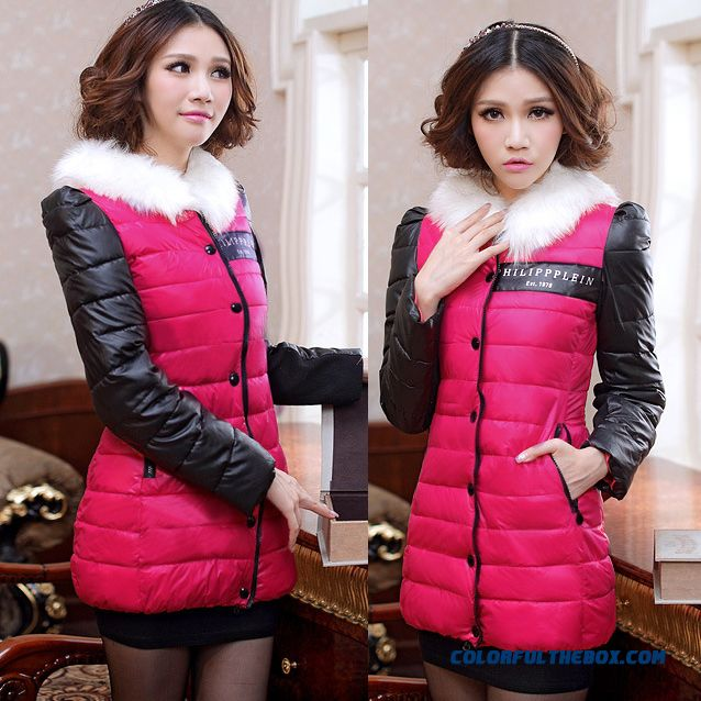 Free Shipping 2015 New Women'scoatslarge Down Cotton Jacket Specials