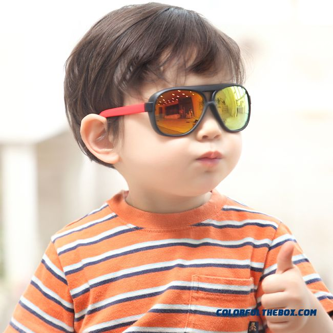 129e54e6883 Cheap Free Shipping Children Glasses Baby Boy Goggles Frame Sunglasses Dark Glasses  Fashionable Korean Children Girls Uv Protection Accessories Sale Online