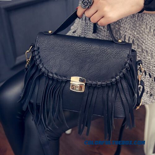 Free Shipping European And American Fashion Catwalk Fringed Bag Ladies Women Shoulder Bags