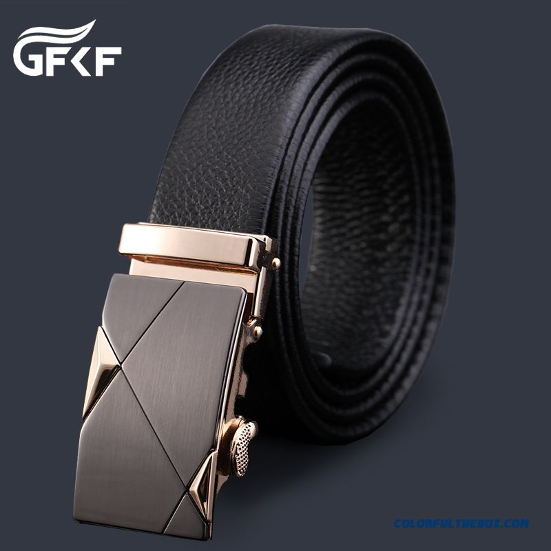 Free Shipping Factory Direct Sales Counter Genuine 100% First Layer Of Leather Belt Men Automatic Buckle Blet