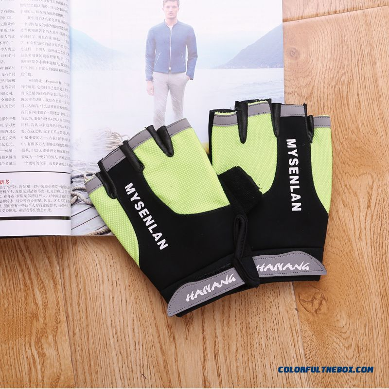 Free Shipping Factory Direct Sales New Women Half-finger Gloves Outdoor Sports Gloves Cycling Equipment Protective Gear Mittens