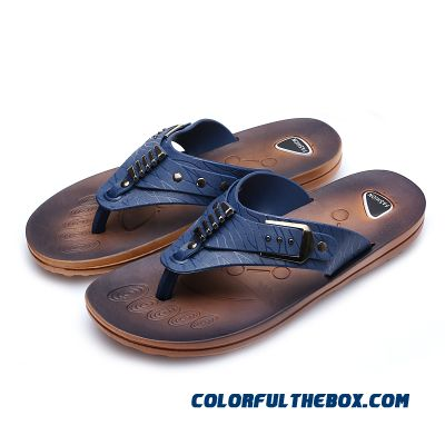 Free Shipping Men's Flip Flops Slippers Men New Summer Antiskid