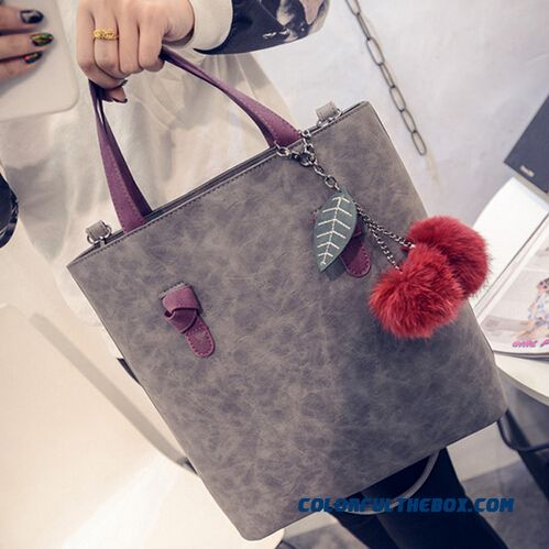 Free Shipping Nubuck Bucket Bag Ladies Bags Top-handle Bags Big Promotion
