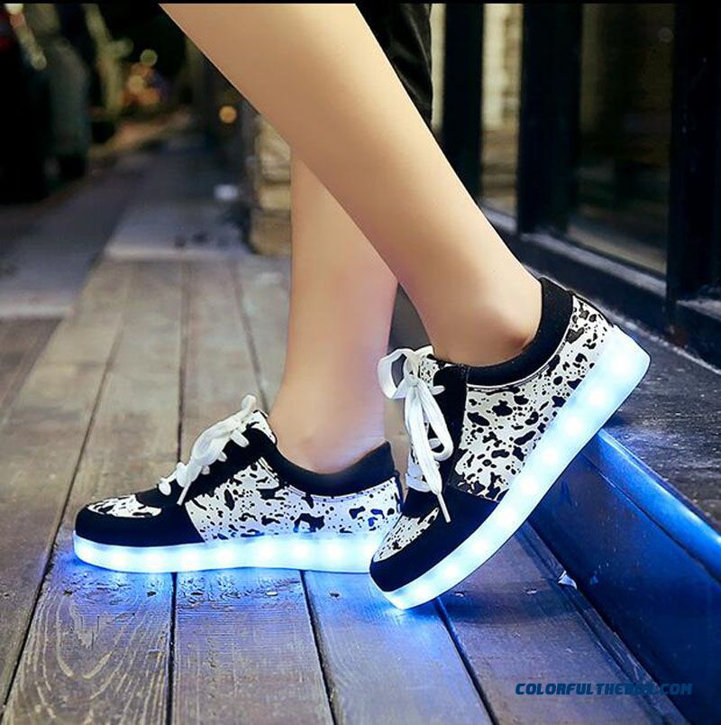 Free Shipping Size 35-43 Led Shoes Glowing 11 Colors Led Men Women Fashion Luminous Led Light Up Shoes For Adults