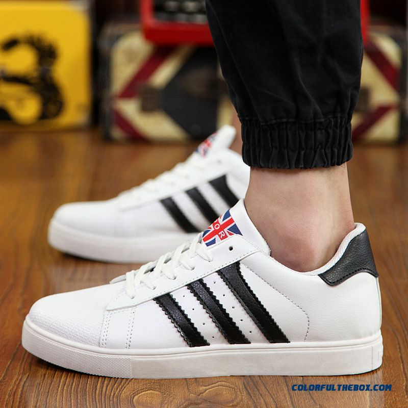 Free Shipping Skateboarding Shoes Men Low Cut Men Shell Head Shoes Flats Shoes - more images 1