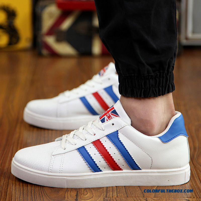 Free Shipping Skateboarding Shoes Men Low Cut Men Shell Head Shoes Flats Shoes - more images 4