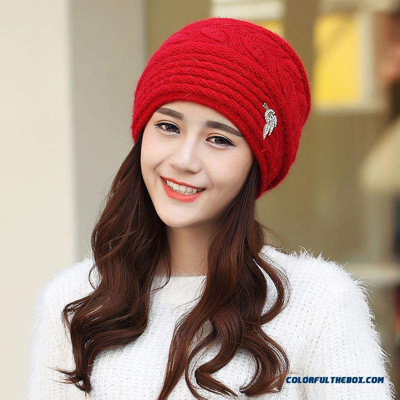 Free Shipping Women Accessories Double Ear Protection Warm Hat For The Elderly - more images 1