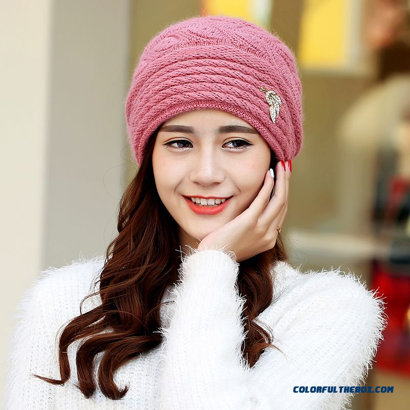Free Shipping Women Accessories Double Ear Protection Warm Hat For The Elderly - more images 2