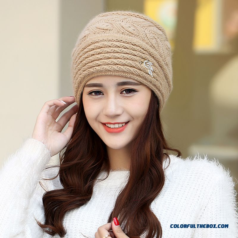 Free Shipping Women Accessories Double Ear Protection Warm Hat For The Elderly - more images 3