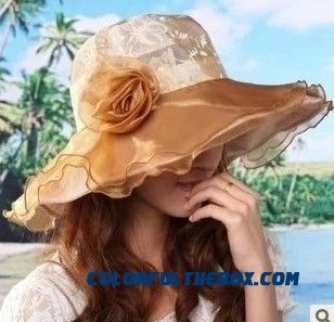 Free Shipping Women's Accessories Uv Protection Foldable Sunscreen Sun Hat