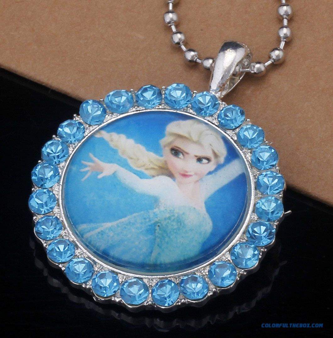 Cheap Frozen Frozen Necklace Birthday Gift Boutique