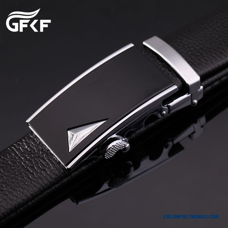 Genuine Product Successful Men Choose Accessories Leather Cowhide Leisure Automatic Buckle Belt