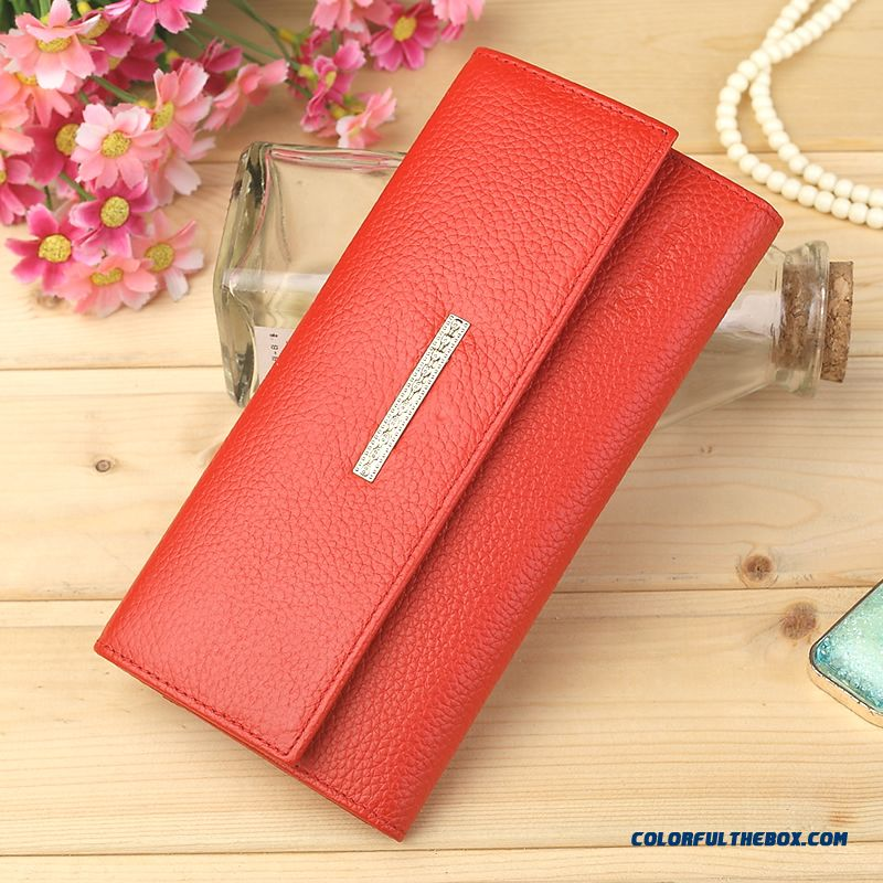 Genuine Special Chian Famous Brand Genuine Leather Ladies Wallets Bags
