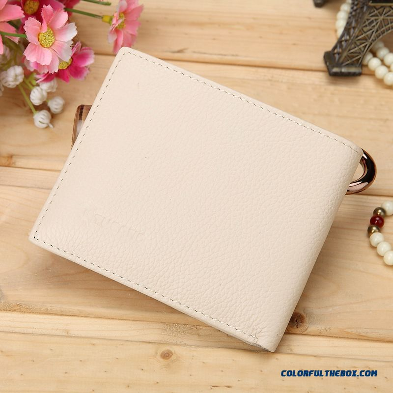 Genuine Special Women Short Purse Leather Wallet Fashion Sweet Bags - more images 2