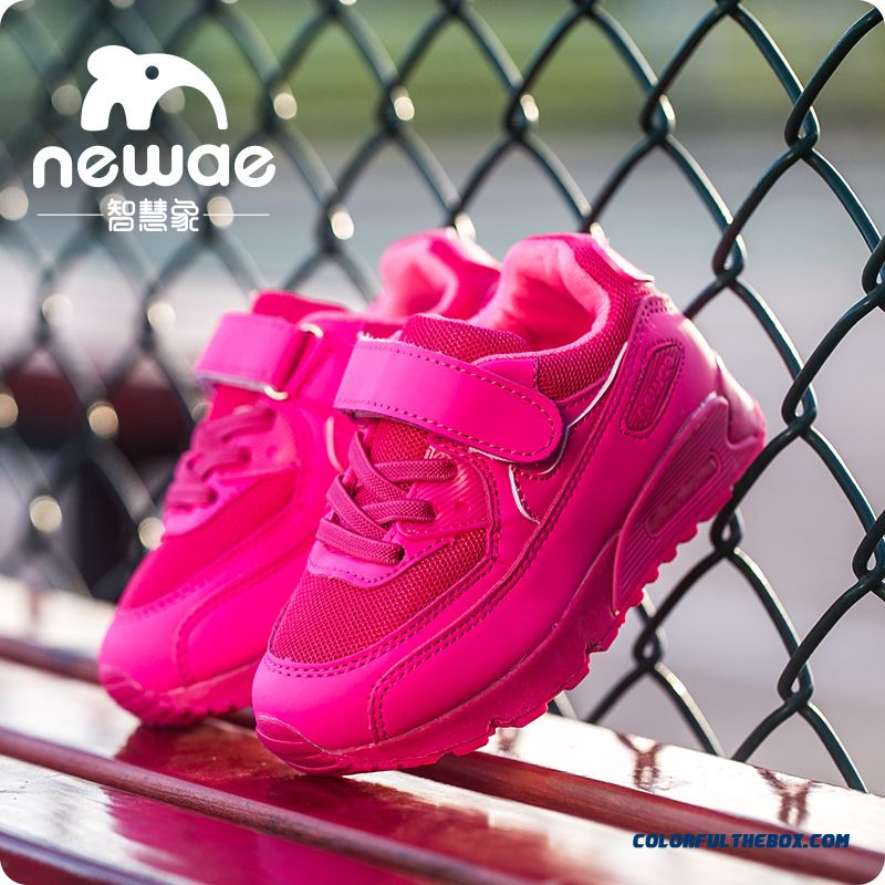 Girls And Boy Pink Shoes Mesh Basketball Shoes Running Shoes Kids Sports Shoes