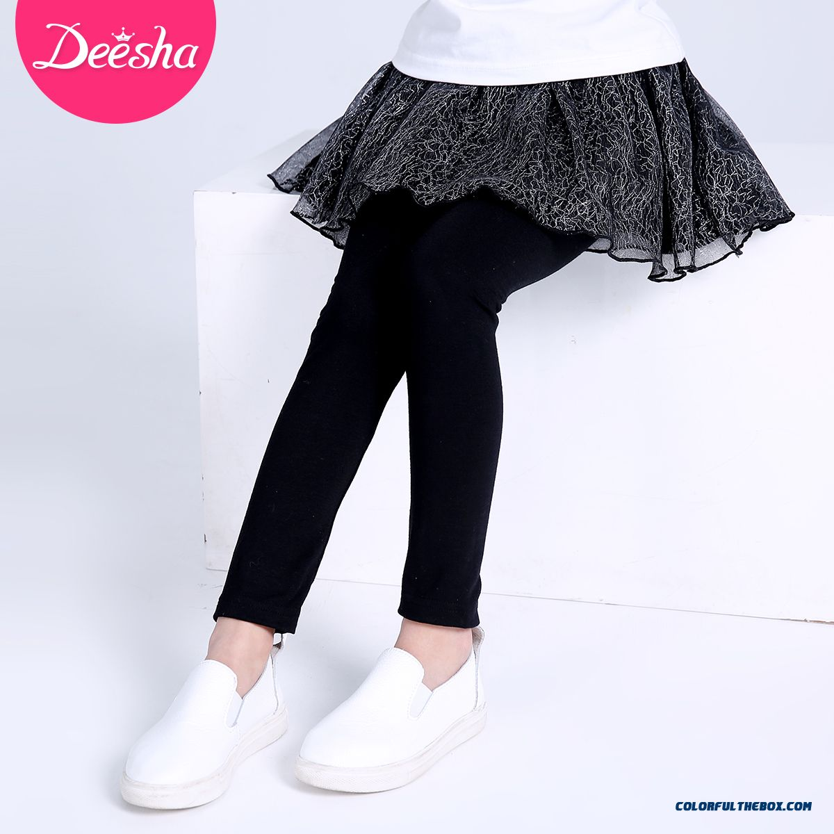 Girls Bottoming Culottes 2016 New Baby Kids Bottoming Long Pants
