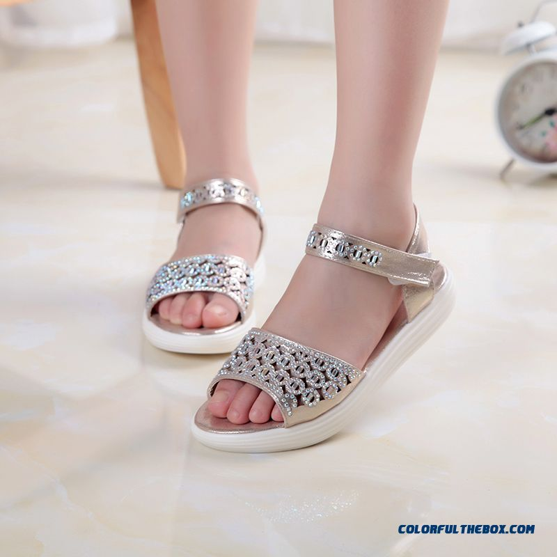 Girls' Favorite Korean Style Fashion Sandals Princess Kids Shoes Hot Sale - more images 1