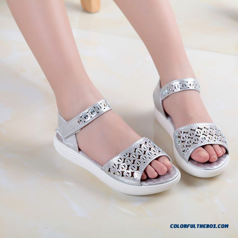 Girls' Favorite Korean Style Fashion Sandals Princess Kids Shoes Hot Sale - more images 2