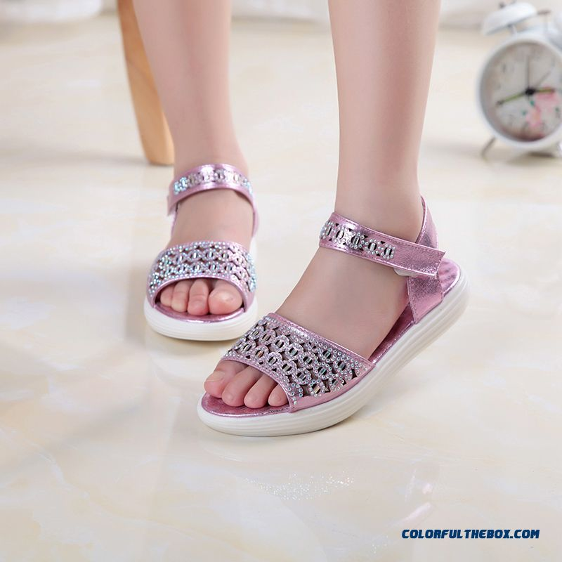 Girls' Favorite Korean Style Fashion Sandals Princess Kids Shoes Hot Sale - more images 3
