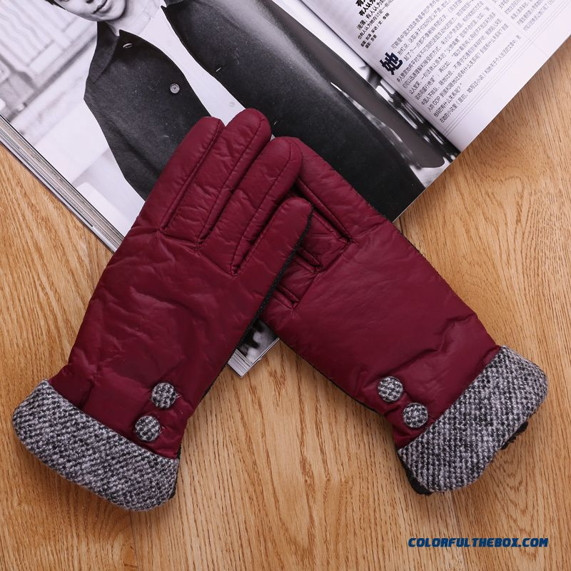 Gloves Promotions Lady Winter Gloves Electric Vehicles Riding Warm Gloves New Hot Women Accessories