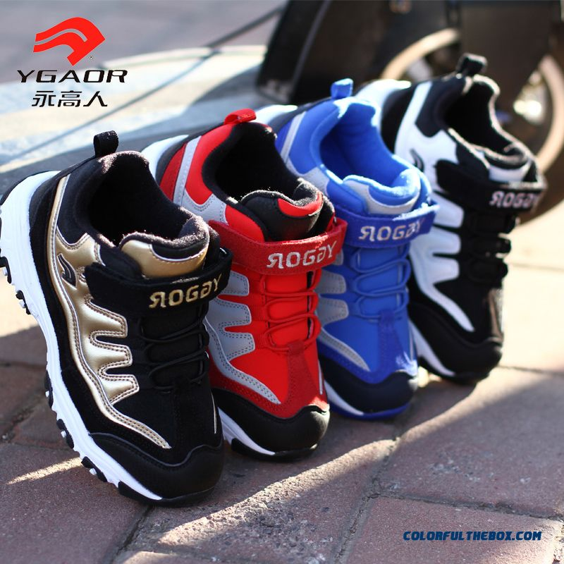 Good Quality Comforable Lightweight Cushioning Boys Basketball Kids Shoes