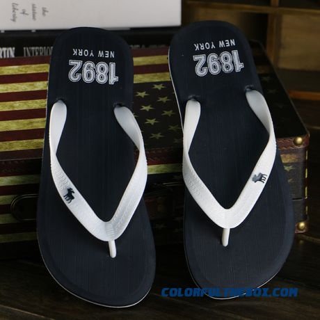 Good Quality Comforable Men's Flip Flops Slippers Couple Shoes