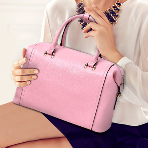 Good Quality Of Genuine Leather Women Bags First Layer Of Leather Simplicity Top-handle Bags