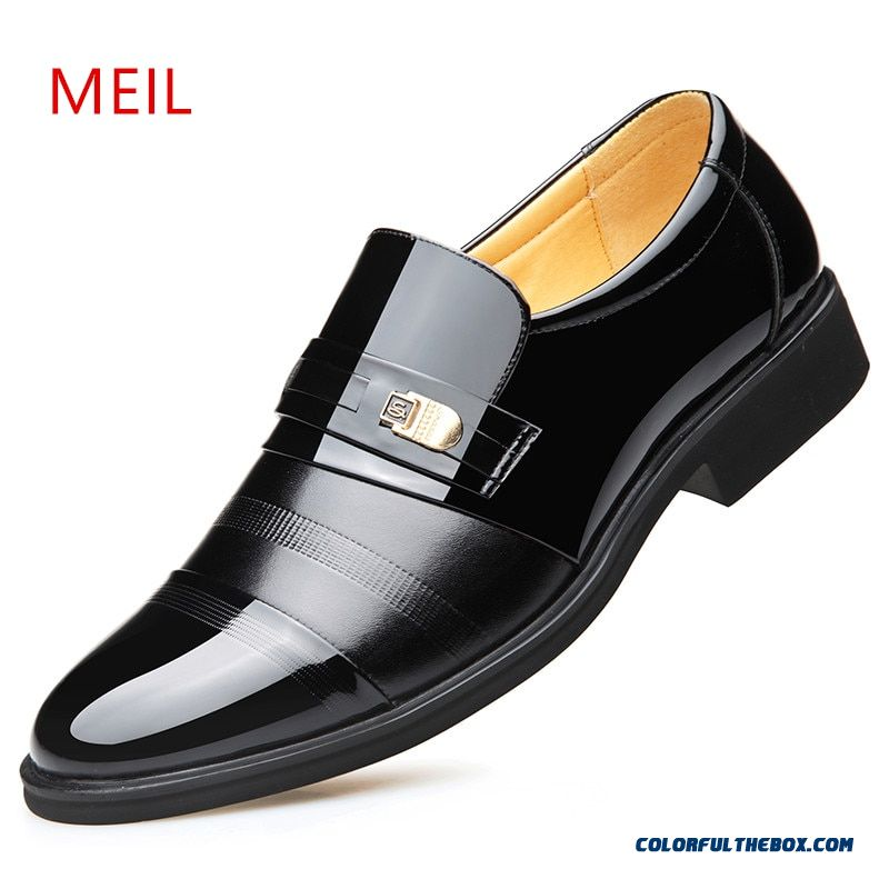 Height Increasing 6cm Elevator Office Shoes Men Oxfords Elegant Men Formal Dress Shoes Leather Loafers 2019 Bridegroom Shoes