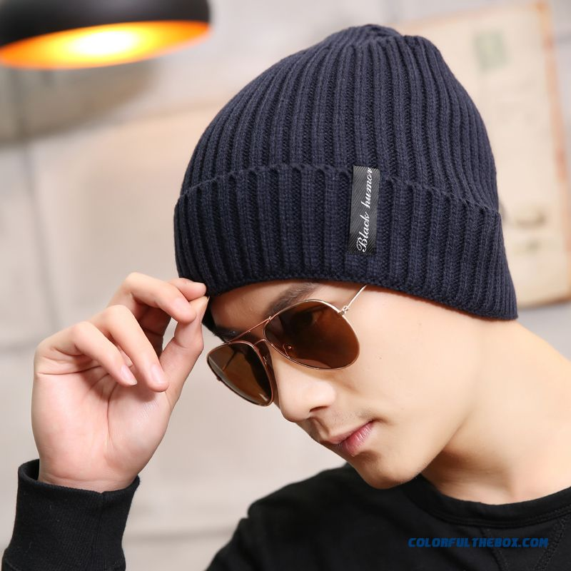 High Quality Fashionable Winter Hats For Men Knitted Hat Students ' Winter Hat Accessories