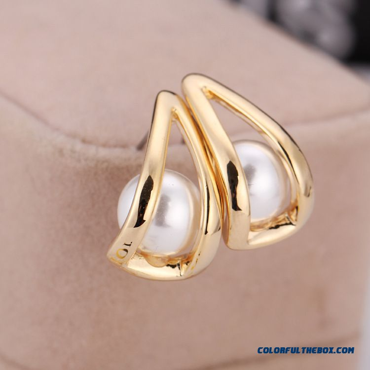 High-grade Natural Pearl Earrings Hypoallergenic Ear Jewelry Qualities Women Favoriet Earrings