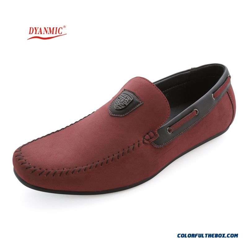 Hot Cheap Flat Shoes Casual Men Leather Flats Men's Summer Original Dyanmic Shoes Man For Sale