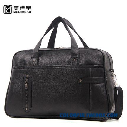 Hot High Capacity Portable Travel Bag Business Travel Travel Short Distances Men Pu Leather Travel Bag
