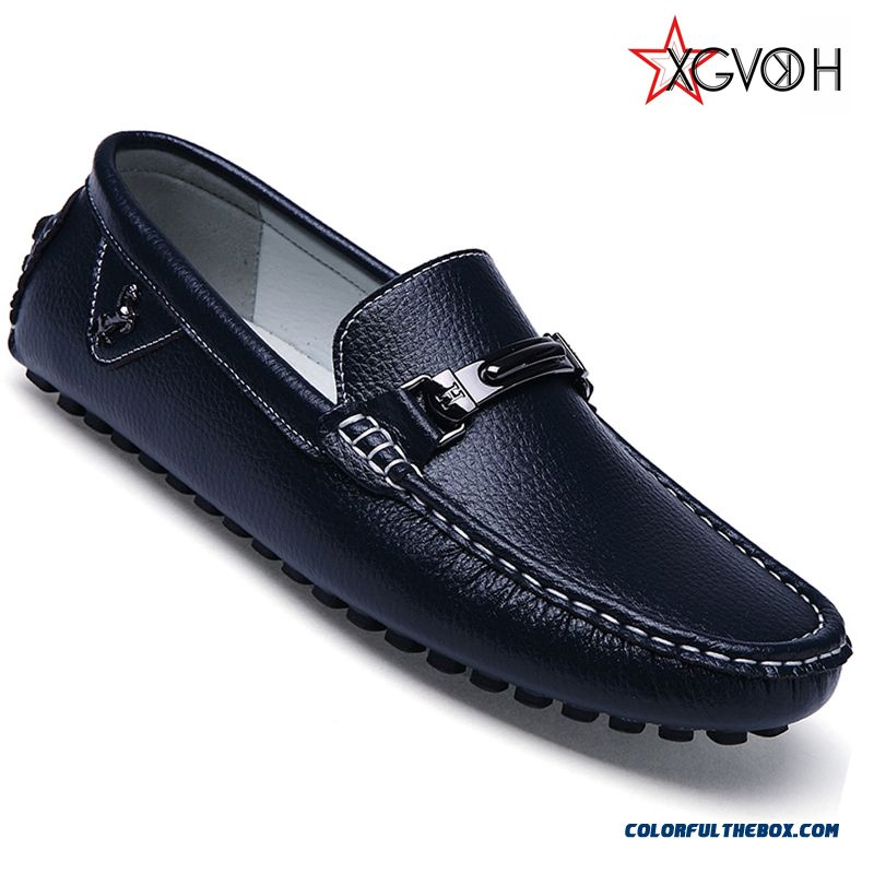 Hot High Quality Men Shoes Fashion Moccasins Loafers Leather Shoes Men's Flats Slip On Driving Shoes Genuine Leather
