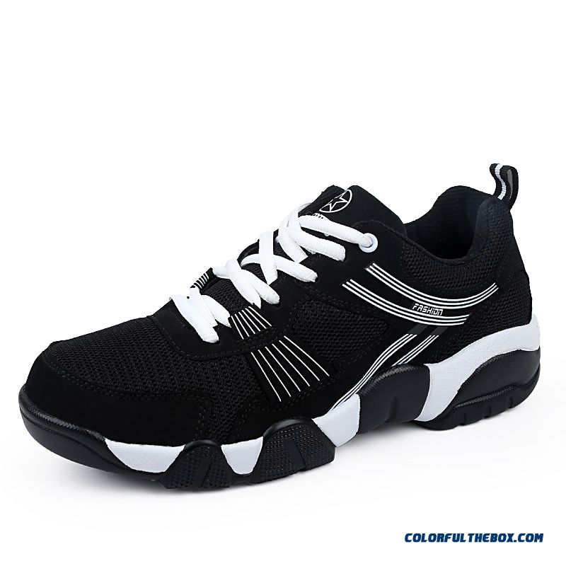 Hot Sale Breathable Mesh Sport Running Shoes Lace Men