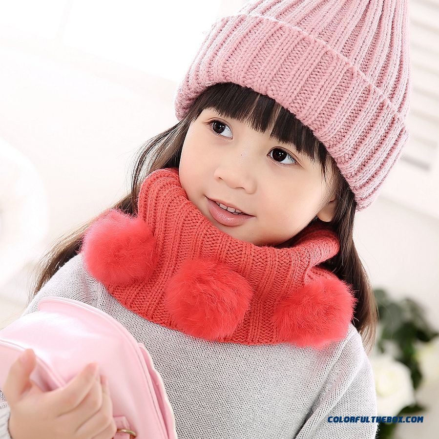 Hot Sale!!! Cute Baby Neck Wrap Good Quality Comforable Winter Warmth Accessories Scarves For Girls Kids