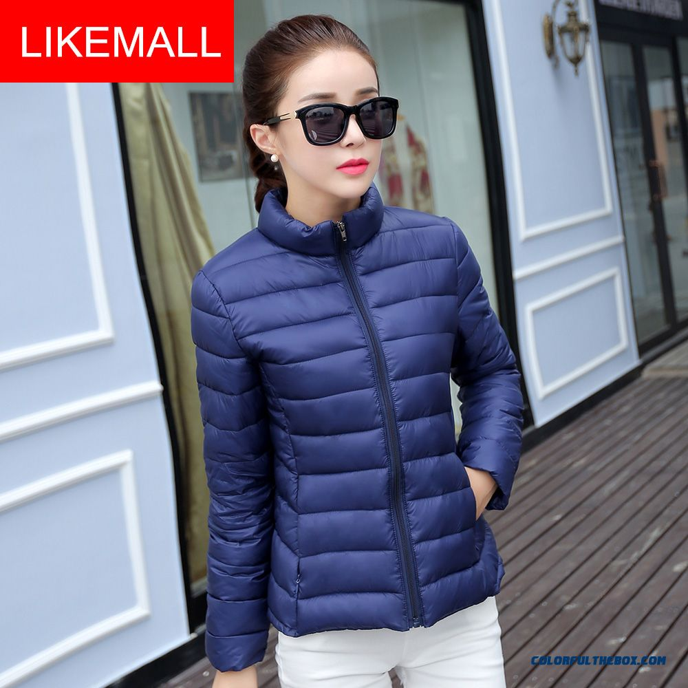 Hot Selling Fashion Winter Women Coats New Purple Short Plus Size Promotion