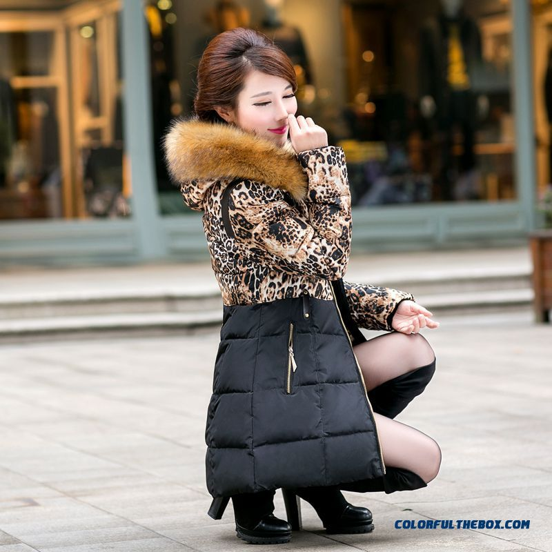 Hot Selling Women Wear Coats Slim Female Jacket Leopard Print Jacket Tide